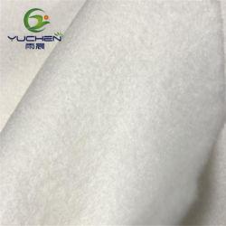 Polpa de madeira/viscose, Flushable Spunlace Não Tecidos não tecidos, biodegradáveis Nonwoven Fabric para toalhetes húmidos