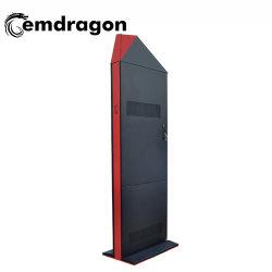 55-дюймовый экран ультратонкие ноутбуки Wind-Cooled вертикальной посадки наружной рекламы машины Светодиодный сенсорный монитор компьютера на открытой раме для Digital Signage