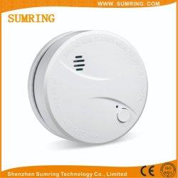 10 años pilas convencionales independiente Alarma de Incendio Detector de humo.