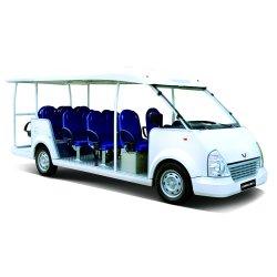 السيارات الكهربائية الفاخرة الشمسية حافلة الركاب فان حافلة مكوكية حديقة السيارات مع 8 11 14 17 23 مقعدا، معتمدة من قبل CE