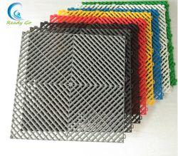 環境の連結のプラスチックガレージの床タイル/高品質防水PP/PVCの物質的な床タイル、ガレージのマット