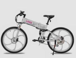 Bicicleta eléctrica de 26 pulgadas de motor trasero integrado con las ruedas de magnesio