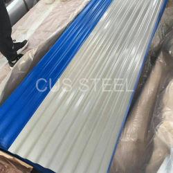 SGCC, Sgch, DX51d'acier galvanisé recouvert de Zinc Étain panneau de toit
