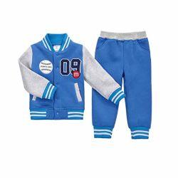 Vêtements d'enfants marchandises Veste de survêtement de Baseball + Jeu de costume pantalon sport tenues