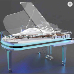 Luxuriante cristal transparent en acrylique complet Grand Piano gp170 pour la vente