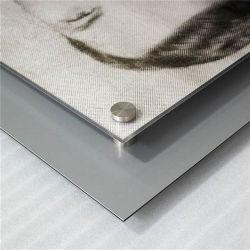 La sublimation de l'aluminium métal en feuille d'administration en différentes tailles