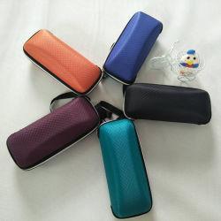 Il favo promozionale Briquet la cassa dello spettacolo di casi di Eyewear della cassa di vetro di EVA con la striscia della maniglia