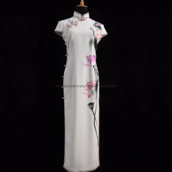 Леди платье Custom Madehand вышивка Леди-платье роскошь платье