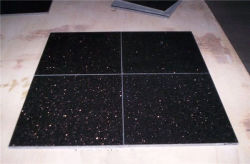 High Quality Natural Stone Black/Pink/Yellow/Brown/Green/Red/White/Blue/Grey Polished/Hond/Flamed/Brushed Black Galaxy Granite Tegels Voor Interieur Vloer/Muur