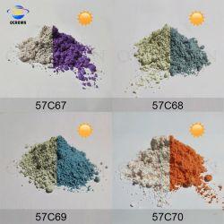 Mudança de cores sensível à luz solar UV de pó tipo fotocrómico pó corante
