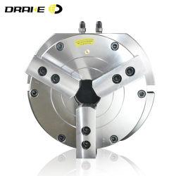 Vertical 3 mors doux creux Pinces de serrage pneumatique pour le broyage des machines de coupe