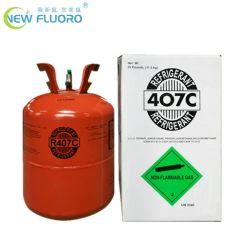 99,8 % 11.3kg R407C avec le vérin de fluide réfrigérant pour système de réfrigération.