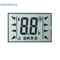 Banheira de venda melhor qualidade de fundo preto segmento gráfico monocromático display LCD de 5 dígitos para o Aquário inteligente