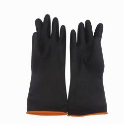 Protection durable des gants de caoutchouc latex industrielle à Guangzhou