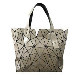 Оптовая торговля Блестящие цветные лаки повседневный брелоки провод фиолетового цвета кожи геометрической дешевые Designer обычная Японии используется сумки