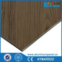 Materiale composito di alluminio della decorazione del comitato di parete della stanza da bagno del comitato di struttura di legno