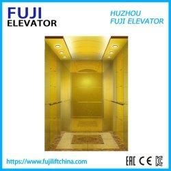 乗客のホーム観光のガラス観察のエレベーターの自動上昇か揚げべら