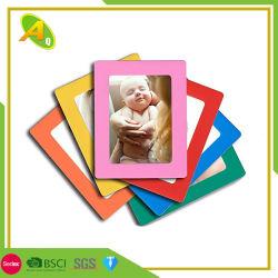 Bebé de plata el marco de fotos de aleación de aluminio (044)