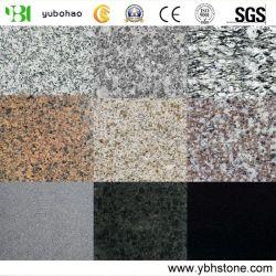 De opgepoetste/Gevlamde Natuurlijke Tegels van het Graniet/de Tegels van de Muur van de Vloer/de Tegels van de Badkamers (G603/G654/G684/G682/G439/G664/633)