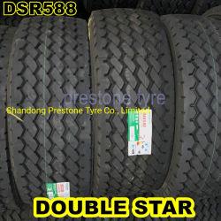 El DSR588 Doublestar la parte más ancha de remolque y unidad de los neumáticos radiales 385/65R22.5 425/65R22.5 445/65R22.5