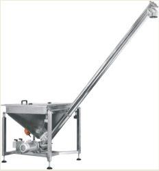 Enchimento pulverulento de Inclinação do Alimentador de parafuso para sistema de embalagem