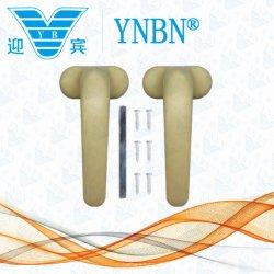 Yb-11 um par de lidar com a Suíte do fuso quadrados Casement de alumínio para portas e janelas
