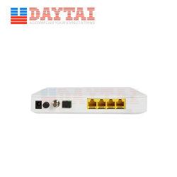 FTTH CATV à fibres optiques de l'ONU Epon ONU 4FE+CATV fibre unique RF