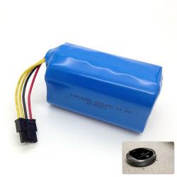 14,8 V 18650 4s1p, 2000mAh 2200mAh 2600mAh lithium-ion 2800mAh Batterie pour robot-aspirateur
