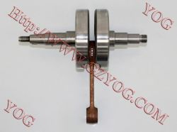 pièces de rechange de moto joj vilebrequin vilebrequin du moteur l'AX100