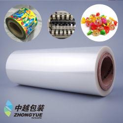La torsione dell'animale domestico trasparente/ha metallizzato la pellicola di stampa per il rullo 3bf5-11 dell'involucro della caramella di imballaggio per alimenti