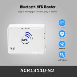 Bluetooth Contactless USB 소형 소형 13.56MHz NFC 스마트 카드 RFID 독자 작가 가격 (ACR1311U-N2)