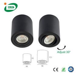 مصباح LED العصري الموفر للطاقة GU10 5W 7 واط 9 واط Pure مصباح LED خفيف ذو ضوء موضعي باللون الأبيض في السقف قابل للتخفيت