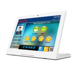 顧客からのフィードバック装置10インチRJ45 WiFiの人間の特徴をもつタブレットのパソコン