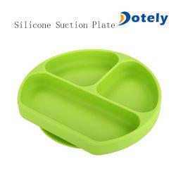 De Vrije Plaat van de Zuiging van het Silicone van de Baby van de Oven BPA Veilige voor Peuters