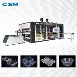 Plástico máquina de formación automática de vacío para contenedores de comida rápida