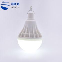 Ampoule de LED Lampe à économie d'énergie rechargeable d'urgence Ampoule de LED 12W 20W 30W 50W 80W Voyants LED d'éclairage extérieur du ménage Camping