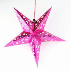 5 مصباح سقف من فئة نجوم بيضاء ذات ورق لامع مشفر زينة معلقة لعيد ميلاد المسيح عرس عيد ميلاد حفلة منزل ديكور
