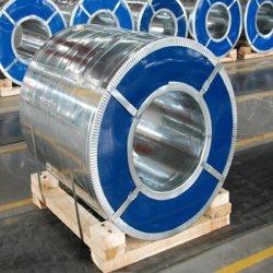El Zinc 60g -275g de hierro de acero galvanizado Gi CRC PPGI bobinas de acero con recubrimiento de color de la bobina de banda