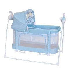 Lit bébé Chaise lit-bébé berceau Swing parc Sleeping Berceau Berceau à bascule automatique Kid balançoire pour Bébé Nourrisson bouncer