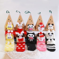 Санта-Рождество подарок пакет Рождество Стоковая Xmas хранение