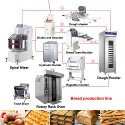 Toast Croissant Baguette Hotdog Brot Drehgestell Ofen für Bäckerei Linie