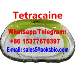 Tetracaine Hydrochloride CAS 136-47-0 Chinese leverancier Tetracaine Poeder CAS 94-24-6 Benzeen / Lidocaine / procaine / Tetramisole / Levamisole / Tetracaine