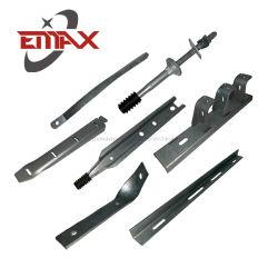Personalizar el acero inoxidable galvanizado en caliente de estampación de chapa metálica de la línea de polo de alimentación de piezas de hardware de fijación herrajes