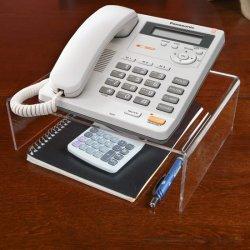 Acryl Clear Telefon Display Ständer für Büro Schreibtisch Zubehör