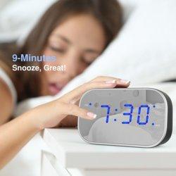 Escritorio analógico Reloj LED de alarma digital