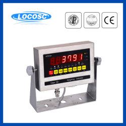 Электронный индикатор взвешивания из нержавеющей стали (LP7510)
