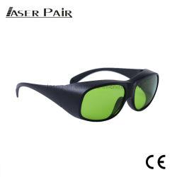 높은 광학 조밀도 808nm, 980nm, 1064nm Laser 방어적인 Eyewear, ND: YAG Laser 증거 고글, 세륨 En207를 가진 800-1100nm를 위한 섬유 레이저 안전 유리