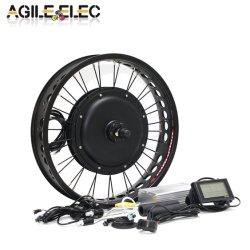 Kit elettrico agile del motore del mozzo della bicicletta 20 '' ~26 '' 1000W per la bici grassa