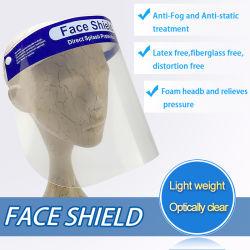 Haustier-Anti-Fog und antistatische Behandlung-Gesichts-Schild-Maske