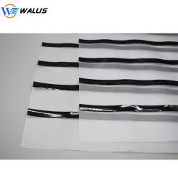 Un gros4 0.08mm PC transparent en PVC enduites Hi-Co Lo-Co feuille de superposition avec bande magnétique pour carte PVC